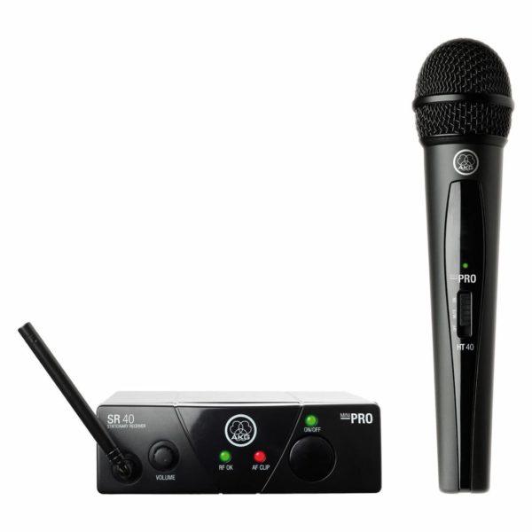 AKG WMS40 Mini Vocal Set BD US25D вокальная радиосистема