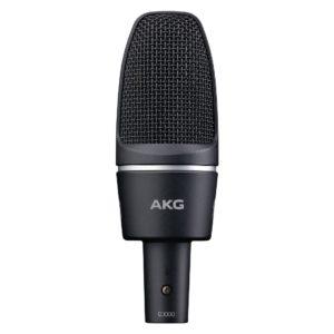 AKG C3000 конденсаторный микрофон с 1-дюймовой мембраной