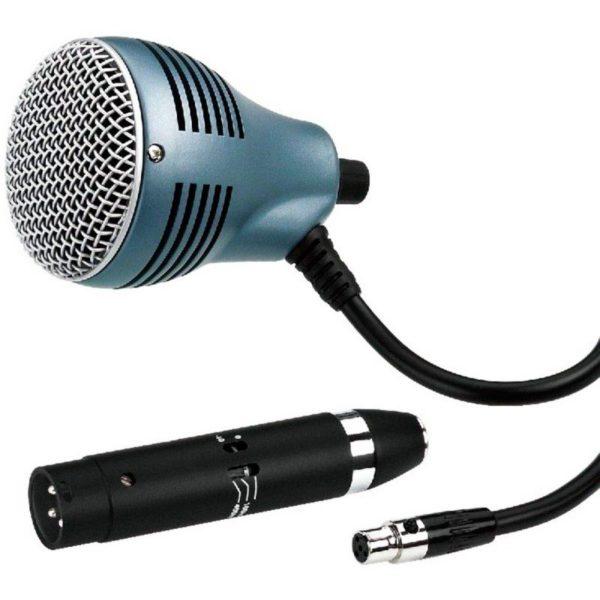 JTS CX-520/MA-500 инструментальный микрофон с адаптером