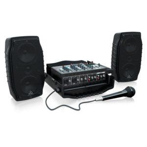 Behringer PPA200 портативная пистема звукоусиления
