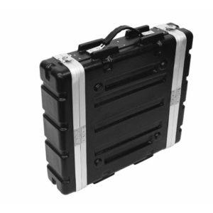 Roadringer Kunststoff-Rack KR-19, 2HE, DD, schwarz рэковый кейс 2U