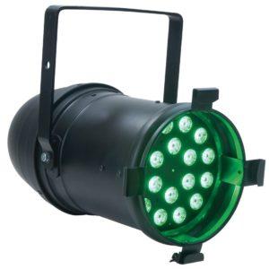 Elation ELED TRI 64 black прожектор PAR на трехцветных светодиодах