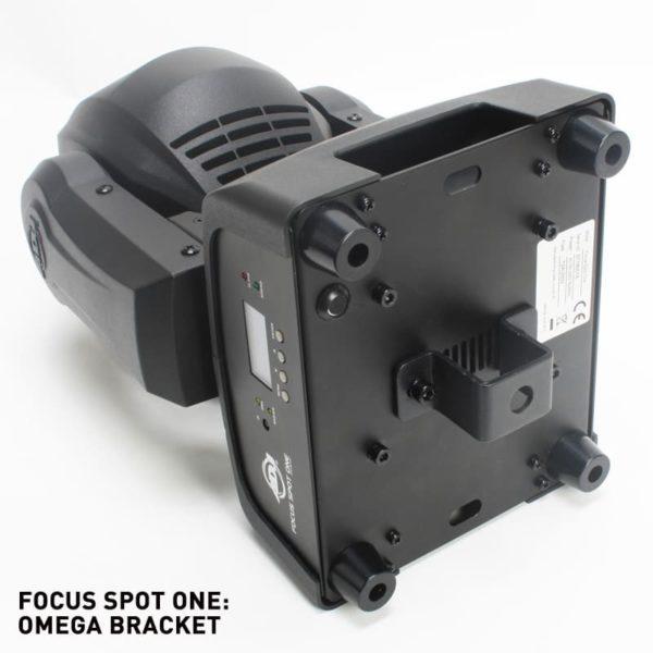 ADJ Focus Spot ONE вращающаяся голова + ультрафиолет