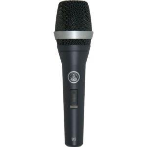 AKG D5S микрофон вокальный суперкардиоидный, с выключателем