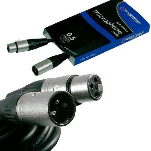 American Dj AC-PRO-XMXF/0,5 микрофонный кабель xlr-xlr 0,5 метров
