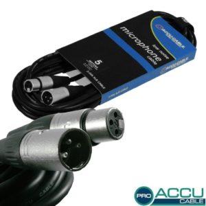American Dj AC-PRO-XMXF/5 микрофонный кабель xlr-xlr 5 метров