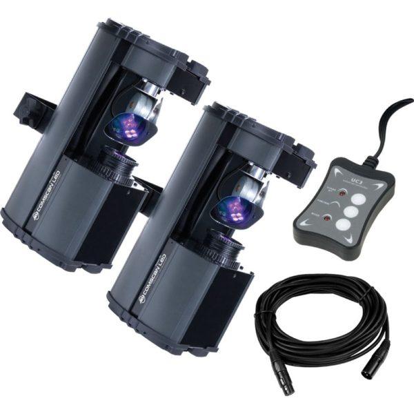 American DJ Comscan LED System светодиодная система из 2 сканеров