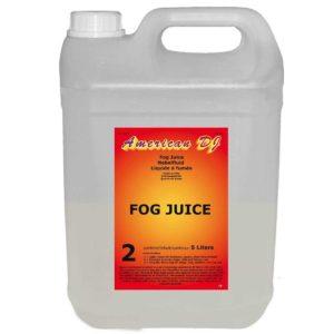 American DJ Fog juice 2 жидкость для дыма средняя 5 литров