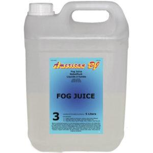 American DJ Fog juice 3 heavy 5л - жидкость для генератора дыма