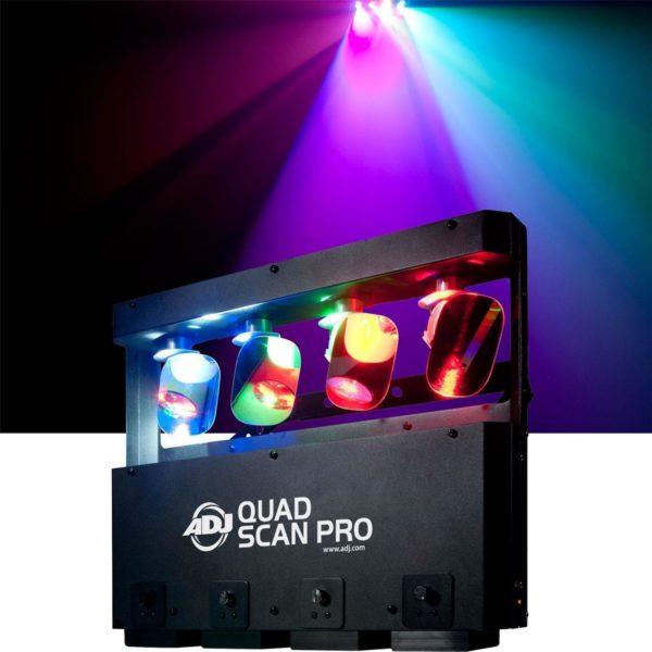 ADJ Quad Scan PRO светодиодный сканер - 4-зеркала