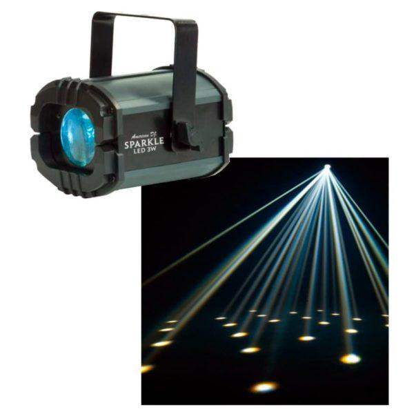 American DJ Sparkle LED 3W светодиодный эффект булого лунного цветка