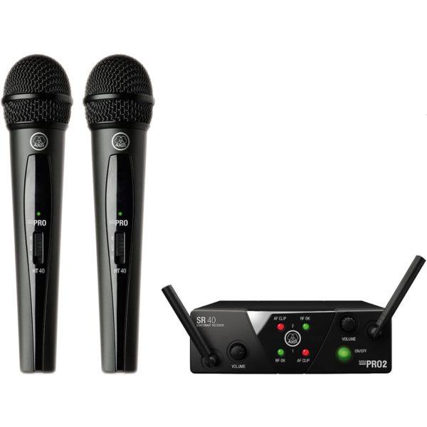 AKG WMS40 Mini2 Vocal Set US25AC вокальная радиосистема