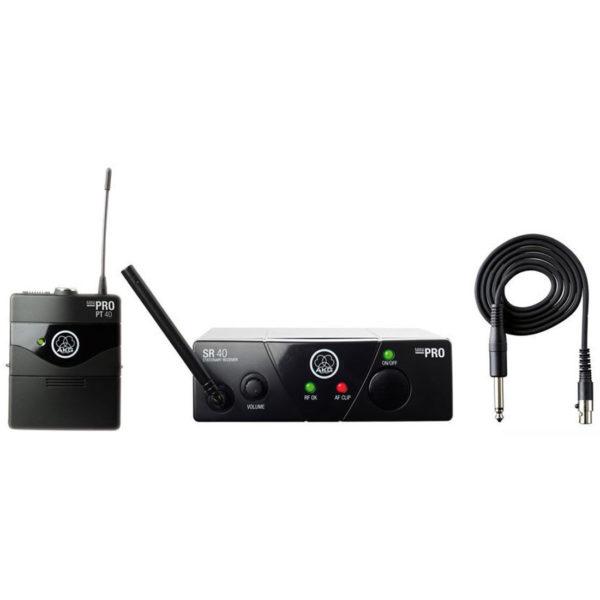 AKG WMS40 Mini Instrumental Set BD US25A инструментальная радиосистема