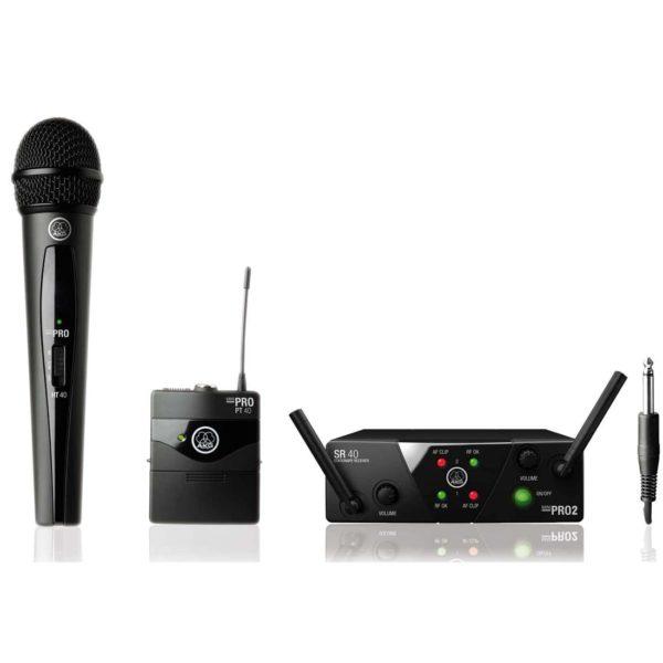 AKG WMS40 Mini2 Mix Set BD US45A/C вокальная радиосистема