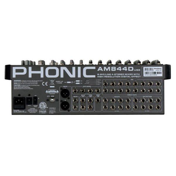 Phonic AM 844D USB микшерный пульт 16-и канальный