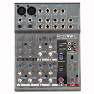 Phonic AM105FX микшерный пульт 6-и канальный