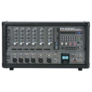 Phonic POWERPOD 620R активный микшерный пульт 6-и канальный