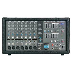 Phonic POWERPOD 740R активный микшерный пульт 7-и канальный