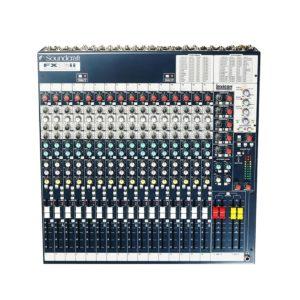 Soundcraft FX16ii аналоговый 26-канальный микшер