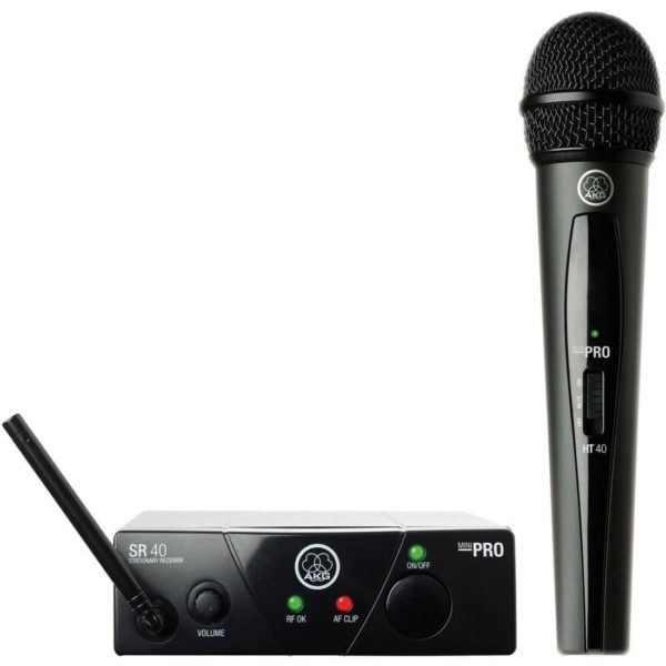 AKG WMS40 Mini Vocal Set BD US25A вокальная радиосистема