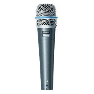 SHURE Beta 57A микрофон инструментальный динамический
