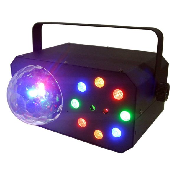 XLine Light DISCO STAR светодиодный прибор с лазерами