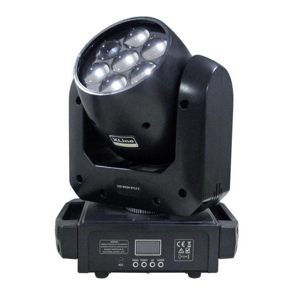 Xline Light LED WASH 0712 Z вращающаяся голова