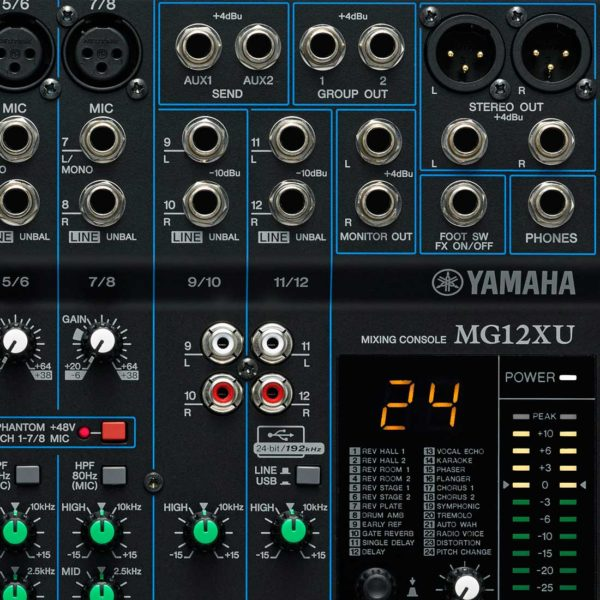 Yamaha MG12XU микшерный пульт 12-канальный