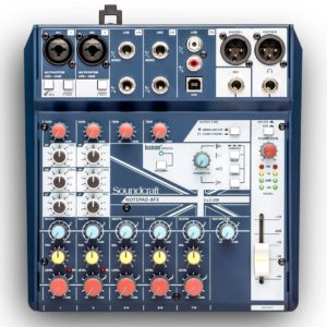 Soundcraft Notepad-8FX микшерный пульт