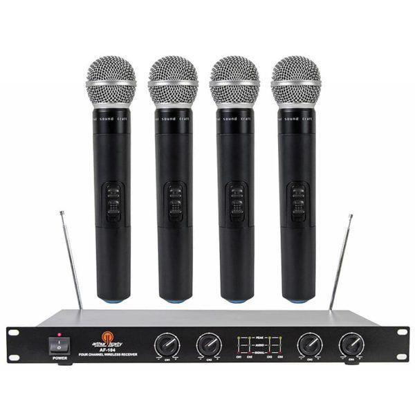 Arthur Forty AF-104 радиосистема с 4-мя микрофонами