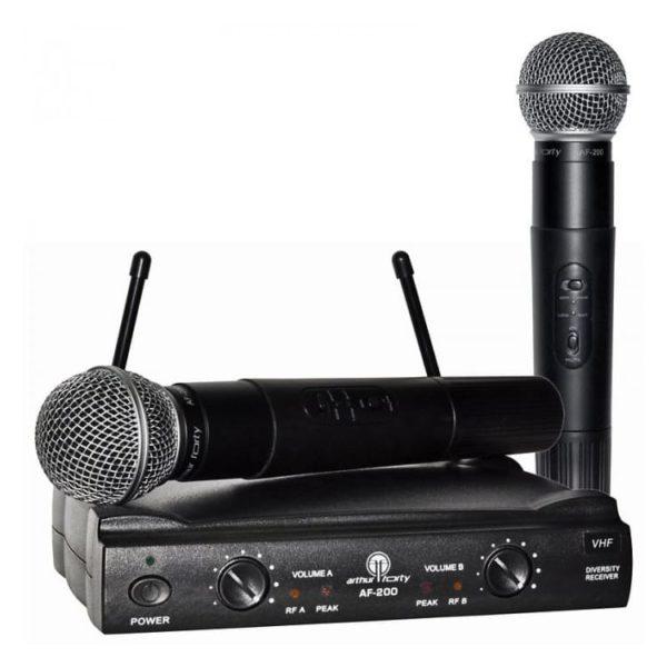 Arthur Forty AF-200 радиосистема с двумя микрофонами