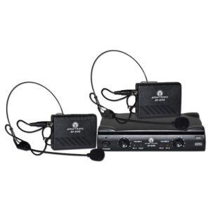 Arthur Forty AF-200B радиосистема с 2-мя головными микрофонами (гарнитурами)