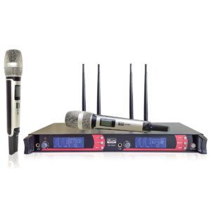 Xline MD-968A радиосистема двухканальная c двумя ручными передатчиками